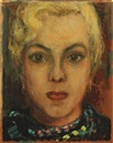 Wilhelm Freddie, Portrait of a blond woman