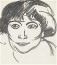 John Duncan Fergusson, Woman's Head
