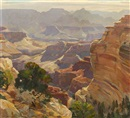 Carl Hoerman, Mounting Sun, Grand Canyon, Arizona