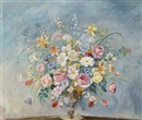 Max Kuehne, Still Life with Flowers