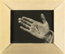 Aaron Siskind, Martha's Vineyard (Hand with minnow)