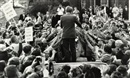Bill Eppridge, Robert F. Kennedy, Campaign in Ithaca, New York and Autograph seekers reach for hand of Robert F. Kennedy (2 works)