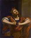 Circle Of Guercino, König David