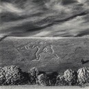 Michael Kenna, Cerne Abbas Giant, Dorset England; Genie de la Science (2 works)