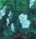 Knud Agger, White flowers