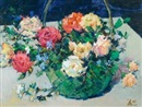 Meng Guang, 花篮 (A basket of flowers)