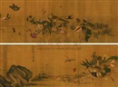 Attributed To Qian Xuan, 蔬果图
