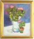 Duane Alt, Still life with Geraniums