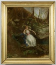 Nicola Marshall, Young Girl in a Forest