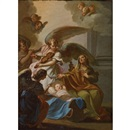 Attributed To Sebastiano Conca, The Birth of the Virgin
