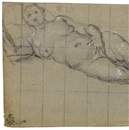 Domenico Tintoretto, Study of a nude woman