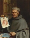 "Guercino, Portrait of Fra Bonaventura Bisi, called ""Il Pittorino"""