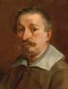 Attributed To Francesco Albani, Self-portrait of the artist