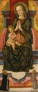 Pietro Alamanno, Madonna and Child enthroned with Saints Vincent Ferrer and Bernardinus