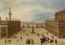 Louis de Caullery, A view of the Campidoglio, Rome