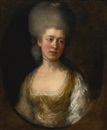Thomas Gainsborough, Portrait of lady Catherine Ponsonby, Duchess of St. Albans
