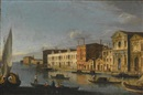 Master of the Langmatt Foundation Views, Venice, the Santo Spirito and the Zattere
