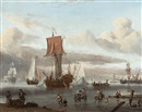 Circle Of Abraham Jansz Storck, Harbour Scene