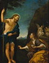 Follower Of Francesco Albani, Christ appearing to Mary Magdalen