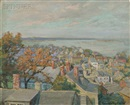 Orlando Rouland, Looking Over Old Marblehead