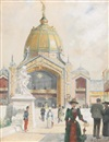 Maurice Leloir, The World's Fair exhibition on the Champ de Mars