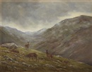 William Ellis Barrington-Browne, The descending mist