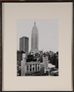 Rudy Burckhardt, View of the Empire State building