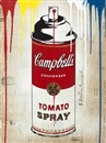 Mr. Brainwash, Tomato spray