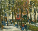 Langlois, Square Viviani, Paris, Ve