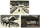 Kiyoshi Saito, Winter in Aizu/ Winter in Aizu/ Tea House (set of 3)