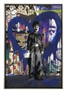 Mr. Brainwash, Chaplin (Blue Heart)