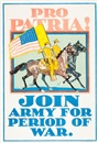 Horace Devitt Welsh, Pro Patria! Join Army for Period of War