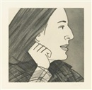 Alex Katz, Light as air (portfolio of 12)