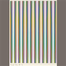 Bridget Riley, Print for Chicago 8 from conspiracy: the artist as witness