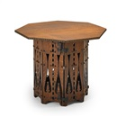Charles Rohlfs, Cut-out center table with door