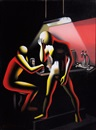 Mark Kostabi, When will the blues leave?