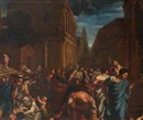 Follower Of Nicolas Poussin, La peste d'Asdod