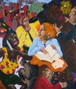Robert H. Colescott, They're Not in the Book, Professor...