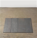 Carl Andre, 4 Part Small Steel Rectangle (in 4 parts)