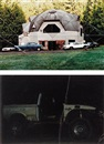Oscar Tuazon, i) Geodesic Dome House; ii) Off Road (2 works)
