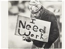 Karl Haendel, Untitled (I Need Work)