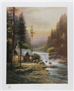 Thomas Kinkade, Evening in the Forest