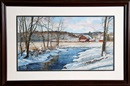 Michael Davidoff, Creekside Farm in Winter