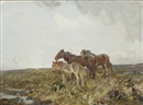 Charles Walter Simpson, Ponies on the Moor