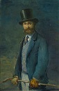 Circle Of Henri Fantin-Latour, Portrait of Edouard Manet