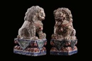 Anonymous-Chinese (Qing Dynasty), Coppia di leoni (pair)