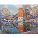 Manly Edward MacDonald, Mill and pond