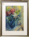 Georges (Karpeles) Kars, Bouquet in Blue Pitcher