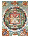 Anonymous-Chinese (Qing Dynasty), A mandala of Chakrasamvara