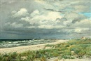 Christian Peder Mørch Zacho, Scene from Hornæk Beach